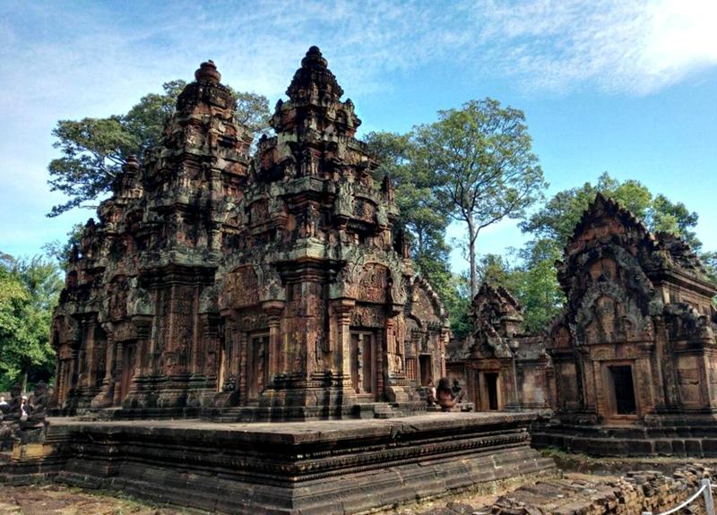 穿越千年,只为遇见你——柬埔寨吴哥三日游