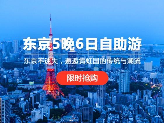 东京一地5晚6日自助游