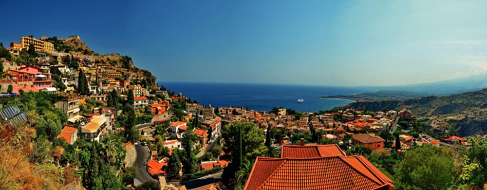 美丽的西西里岛!