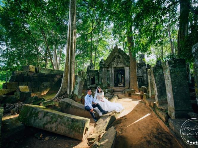 柬埔寨吴哥跟拍、旅拍、婚纱大片之旅
