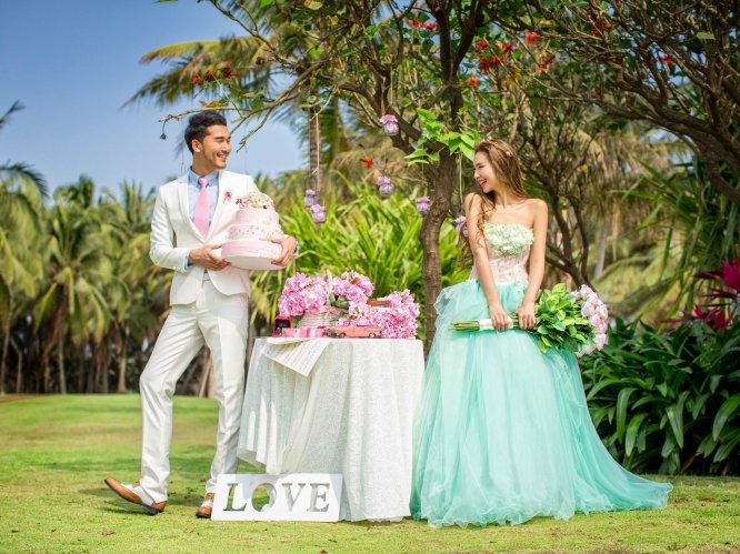 浪漫新娘--毛里求斯蜜月婚纱之旅
