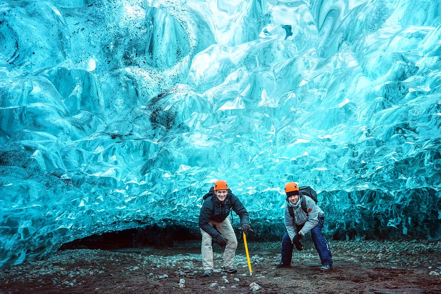 冰岛冰川冰河湖震撼两日之旅,在欧洲第一大冰川探险