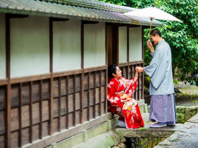 樱花季日本关西旅拍婚纱套餐